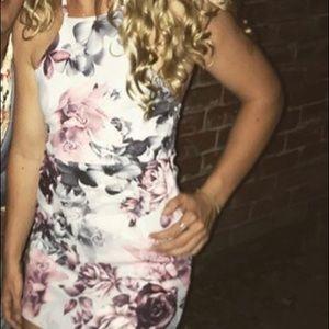 Boohoo petite floral dress